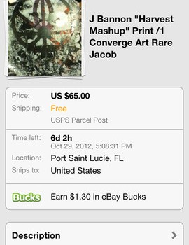 eBay app ios screenshot