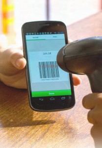 SnipSnap app phone coupon scanning