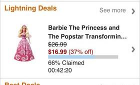 Amazon app deal screen