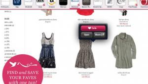 Flit iPad app for shopping