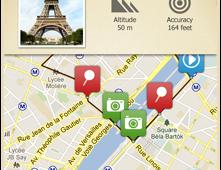 Trip Journal app screenshot